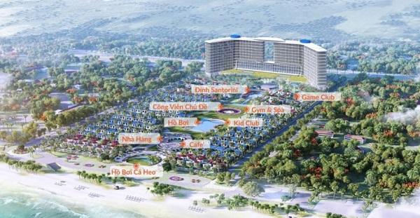 Phối cảnh tiện ích dự án quần thể khu nghỉ dưỡng Cam Ranh Bay