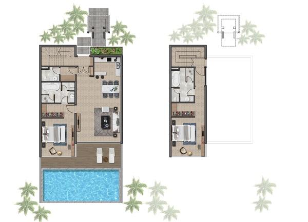 Thiết kế chi tiết biệt thự 140 m2 tại dự án Wyndham Tropicana