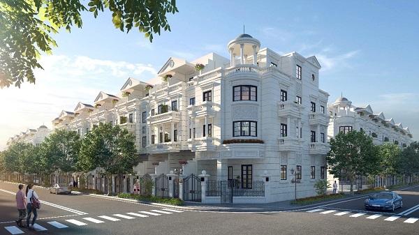 Các căn nhà phố liền kề tại dự án CityLand Park Hills Gò Vấp