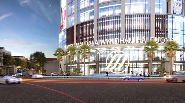 Trung tâm thương mại Apec Center với quy mô 8 tầng, tổng diện tích gần 10.000 m2.