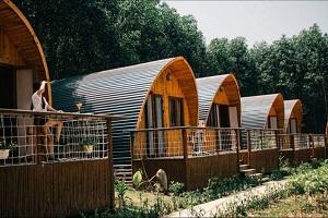 Phối cảnh các căn bungalow tại dự án khu trang trại và nghỉ dưỡng Farmstay G7