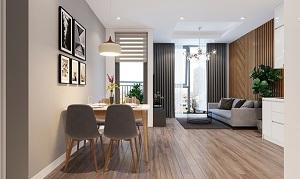 Phối cảnh căn hộ mẫu tại dự án Green Pearl Bắc Ninh