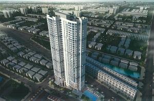 Phối cảnh khu CT7 - CT8 dự án khu căn hộ cao tầng Laimian City Quận 2