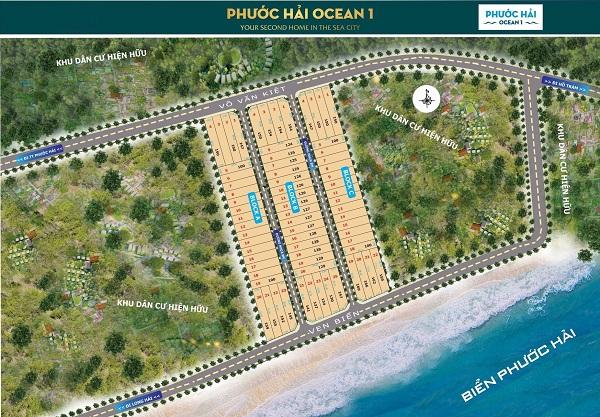 Khu dân cư Phước Hải Ocean 1 Bà Rịa-Vũng Tàu