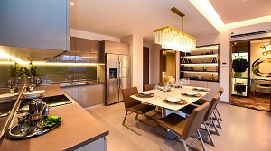 Phối cảnh căn hộ mẫu dự án Stown Gateway