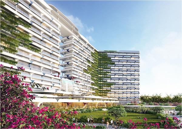 Phối cảnh tổng thể dự án Cam Ranh Bay Hotels & Resorts