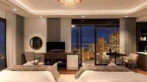 Phối cảnh căn hộ mẫu dự án Peninsula