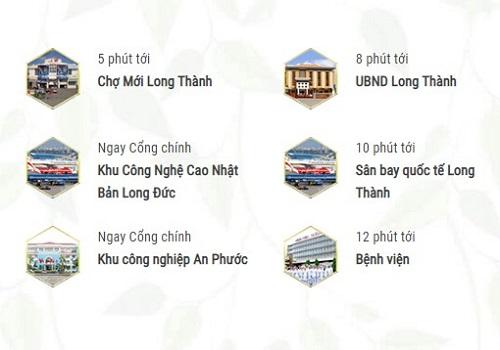 tiện ích ngoại khu dự án Rich City Long Thành