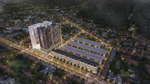 Tổ hợp căn hộ, thương mại Apec Diamond Park Lạng Sơn