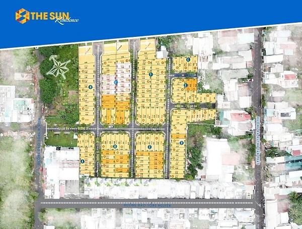 Dự án đất nền The Sun Residence Nhà Bè