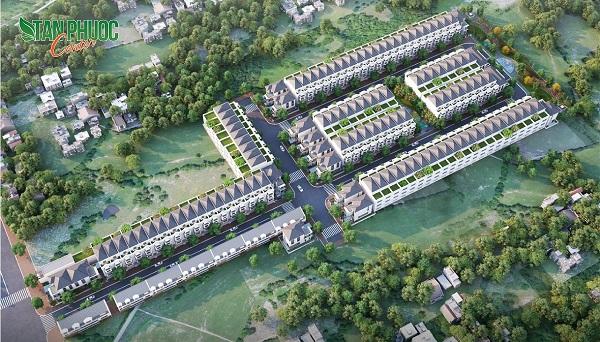 Khu dân cư Tân Phước Center Bình Phước