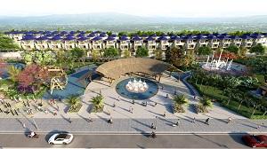 Phối cảnh các căn biệt thự tại dự án Phú Mỹ Gold Villas