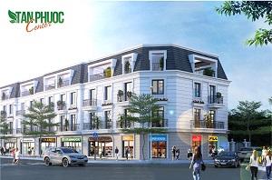 Phối cảnh các căn nhà liền kề, biệt thự và shophouse tại dự án khu dân cư Tân Phước Center