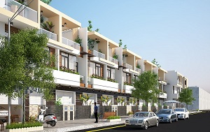Phối cảnh các căn nhà phố và biệt thự tại dự án khu nhà ở phức hợp The Light City