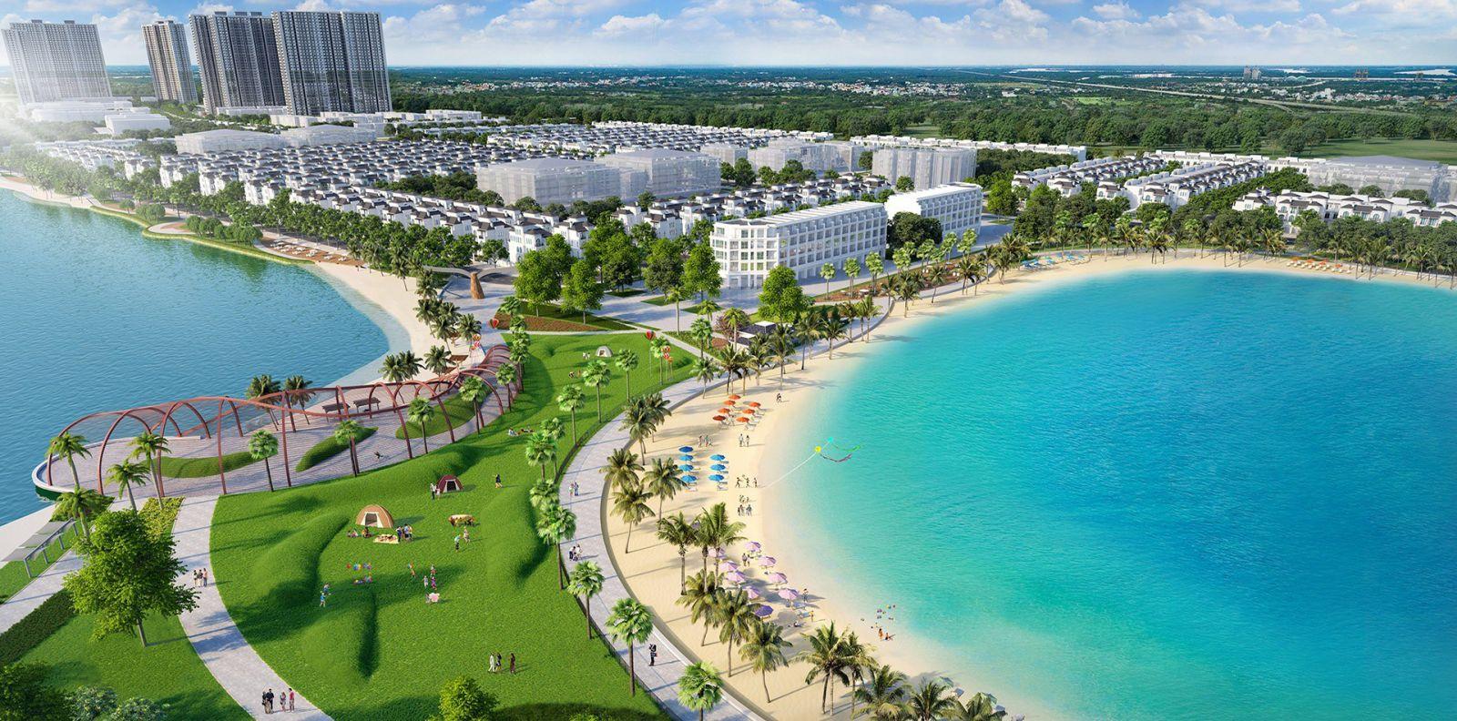 Phân khu thấp tầng dự án Vinhomes Ocean Park Gia Lâm