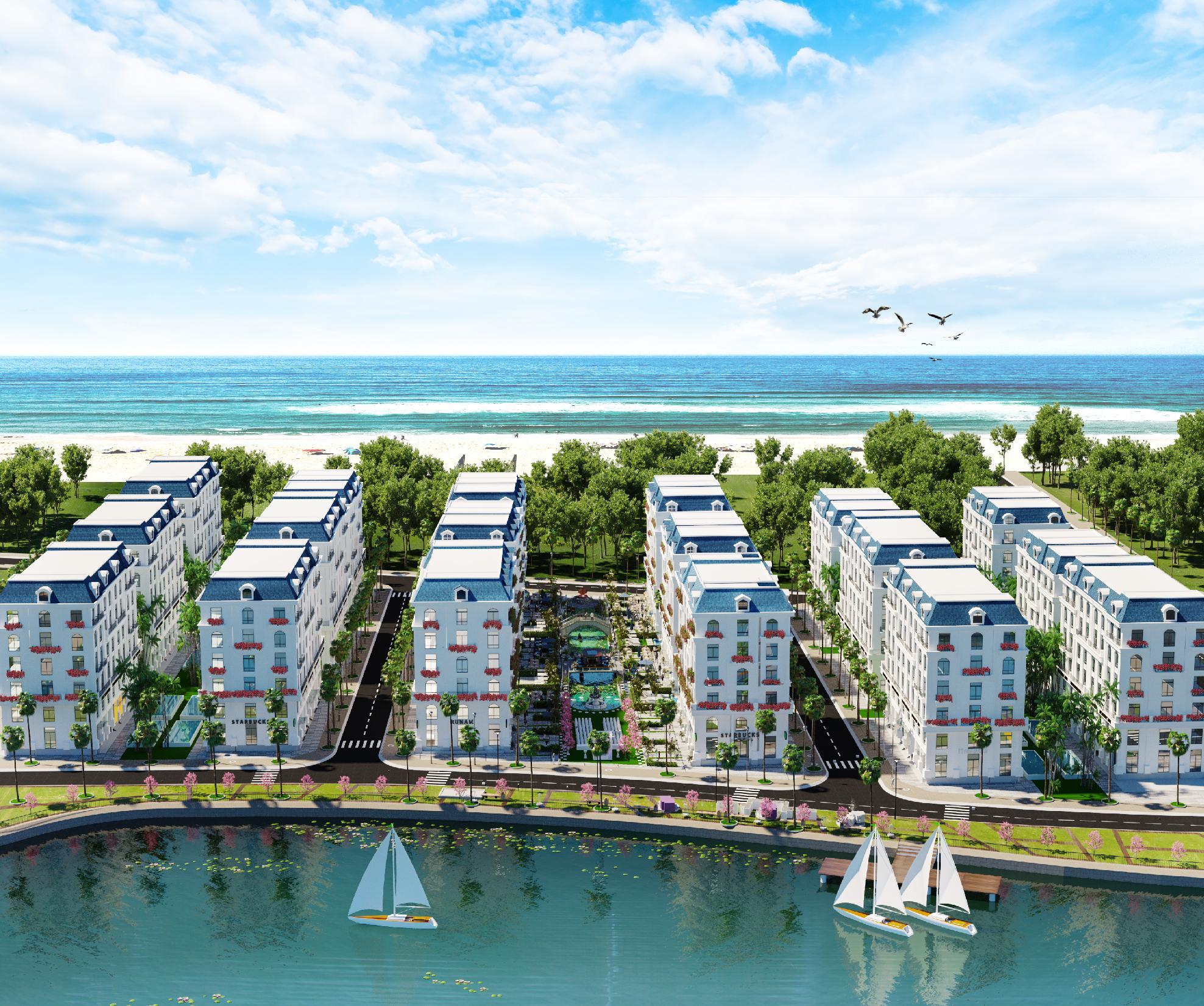 Khu khách sạn The Oceanid Luxury Phú Quốc