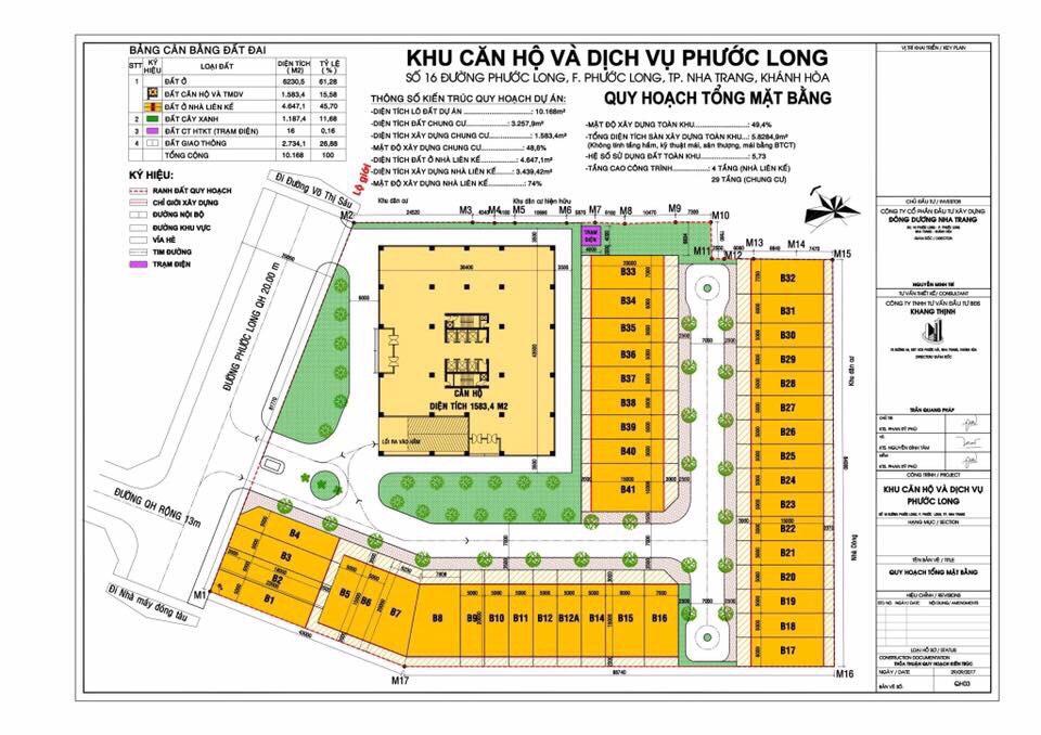 Mặt bằng tổng thể dự án Imperium Town Nha Trang