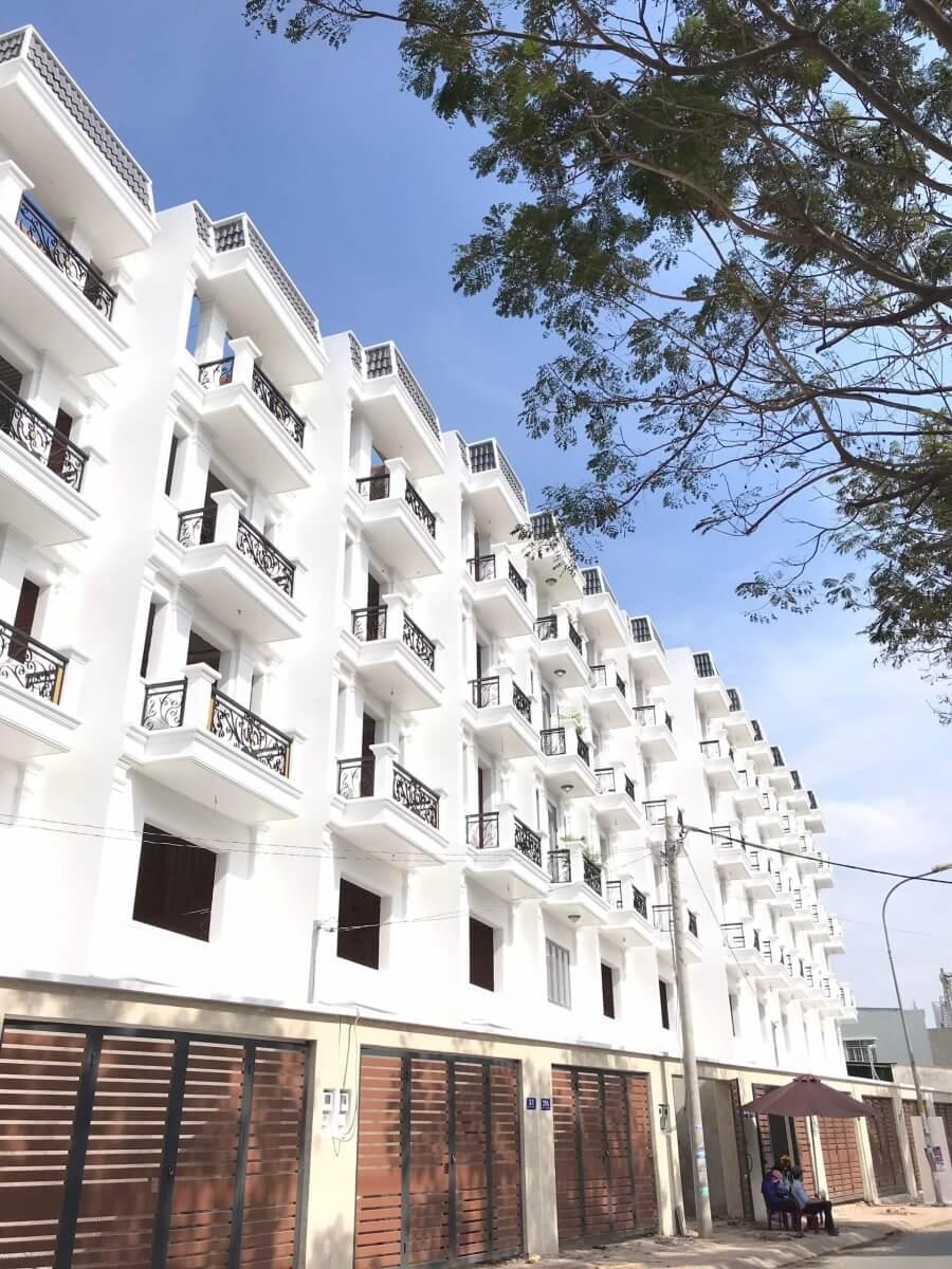 Ảnh thực tế tại dự án nhà phố thương mại Song Minh Residence
