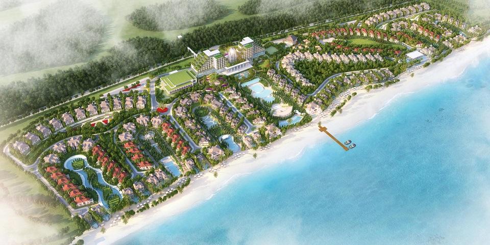 Khu du lịch nghỉ dưỡng Edenia Resort Hồ Tràm