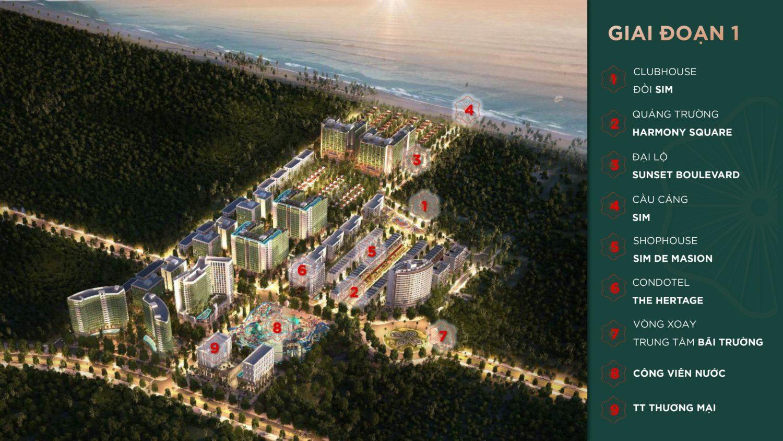 Khu du lịch nghỉ dưỡng Sim Island Phú Quốc