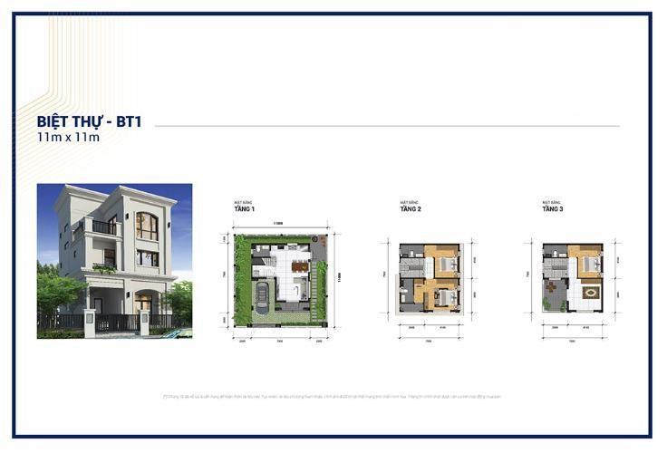 Thiết kế chi tiết căn biệt thự 121 m2 tại dự án Senturia Q9 Central Point