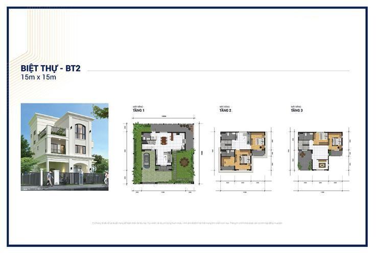 Thiết kế chi tiết căn biệt thự 225 m2 tại dự án Senturia Q9 Central Point