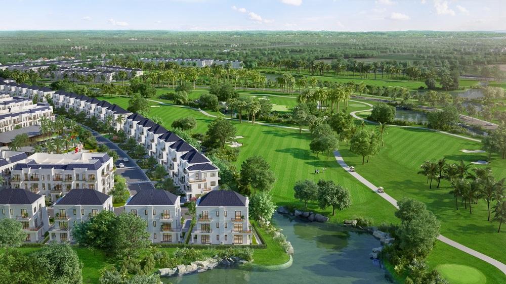 Biệt thự nghỉ dưỡng West Lakes Golf & Villas Long An