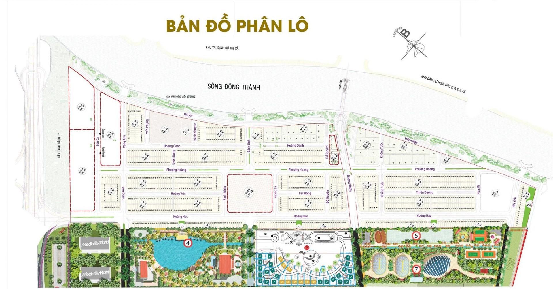 Khu đô thị Mekong City Vĩnh Long