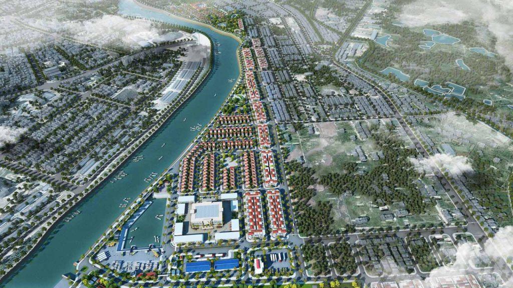 Khu đô thị Royal Riverside City Móng Cái