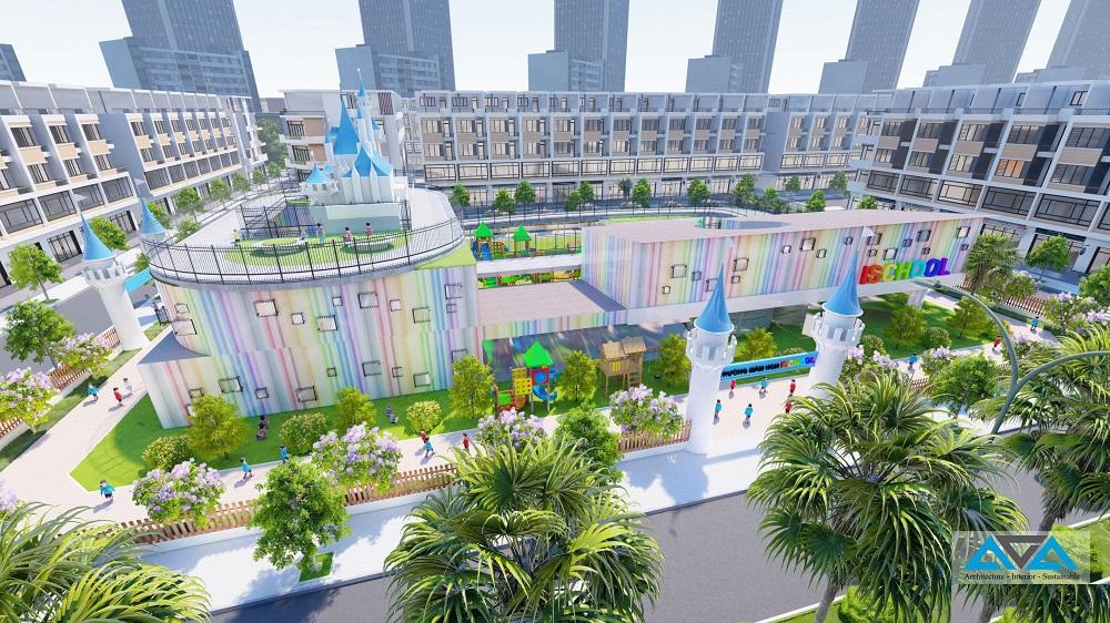 Khu đô thị Center City 3 Bình Dương