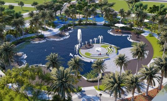 Công viên cây xanh Eco Green Central