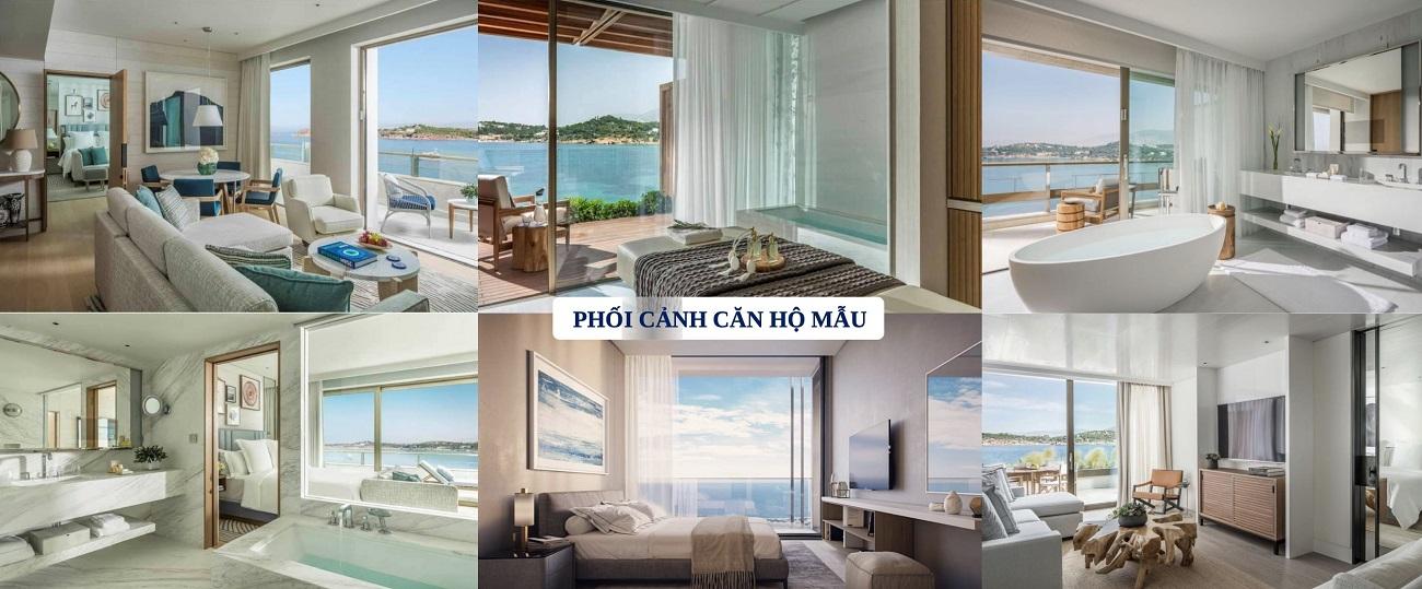 Phối cảnh căn hộ mẫu dự án Aria Vũng Tàu