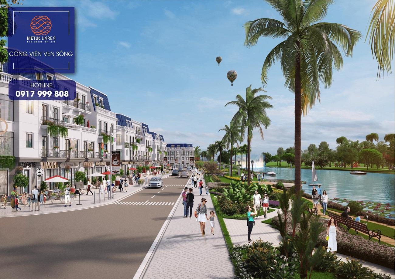 Tiện ích tại dự án khu đô thị VietUc Varea