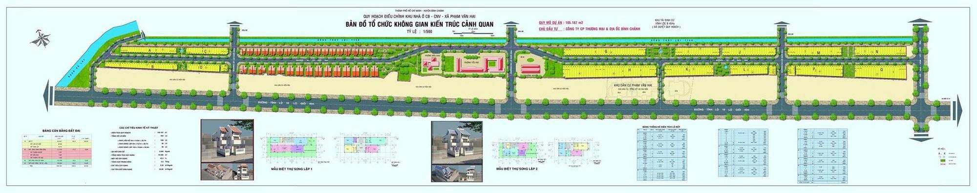 Khu đô thị Tân Tạo Central Park Bình Chánh