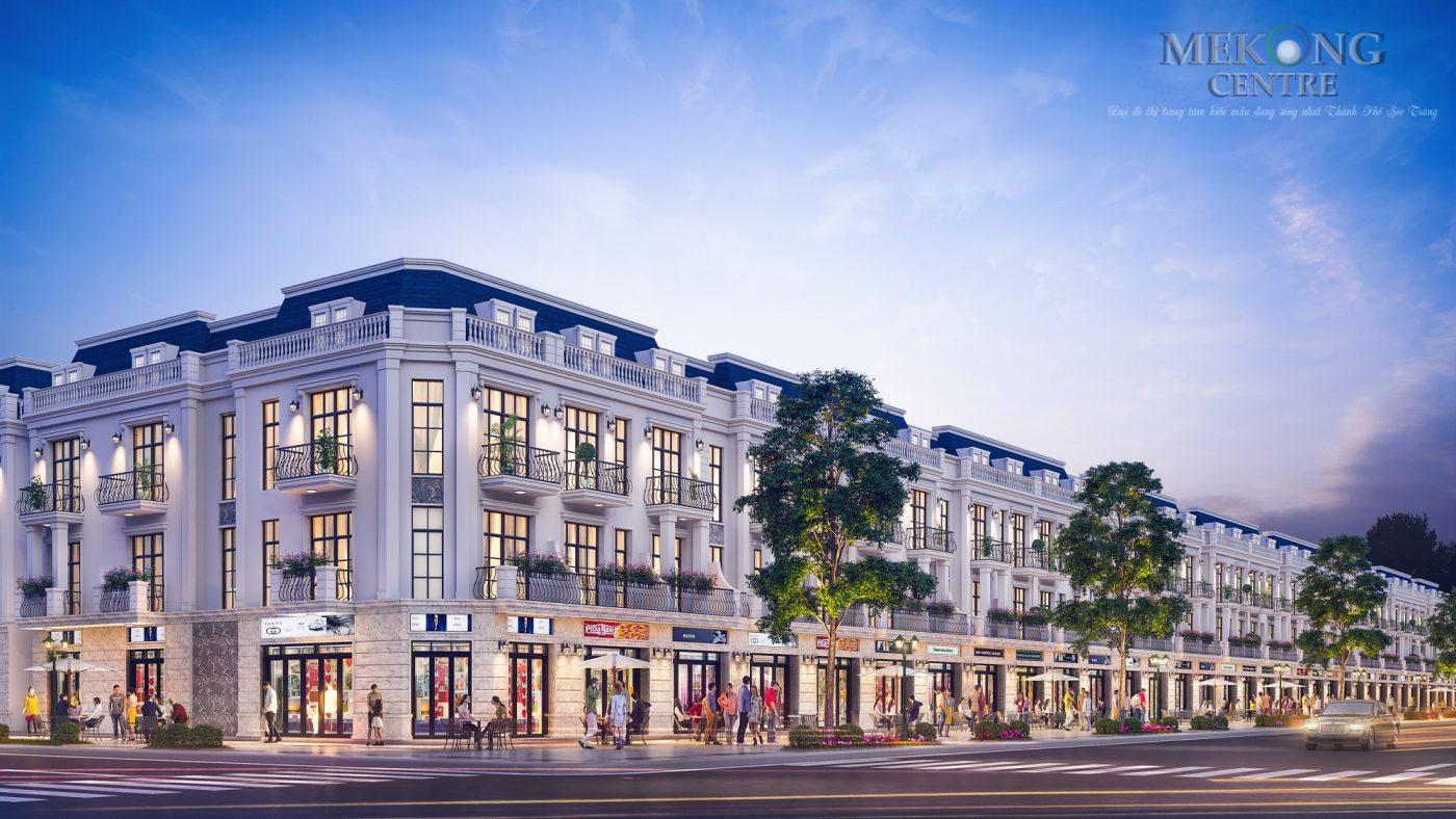 Nhà phố thương mại Mekong Centre
