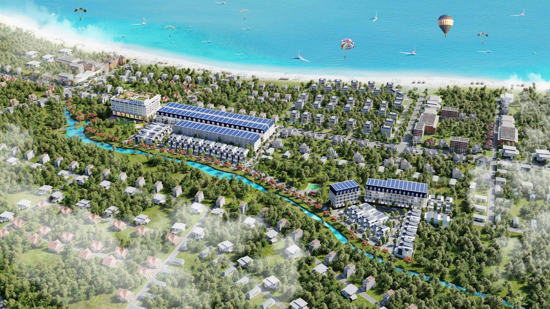 Dự án đất nền Axis Hồ Tràm
