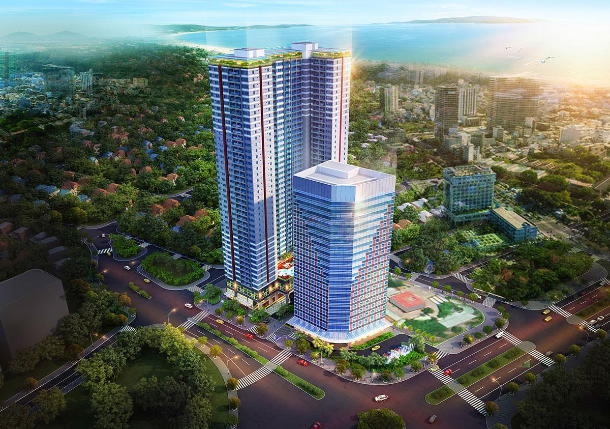 Tổ hợp căn hộ, văn phòng Grand Center Quy Nhơn