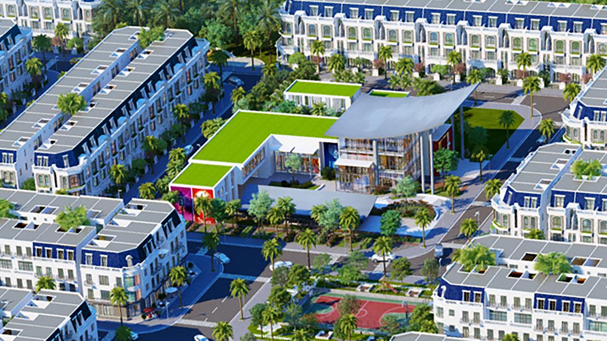 Phối cảnh một số tiện ích tại dự án khu đô thị VietUc Varea