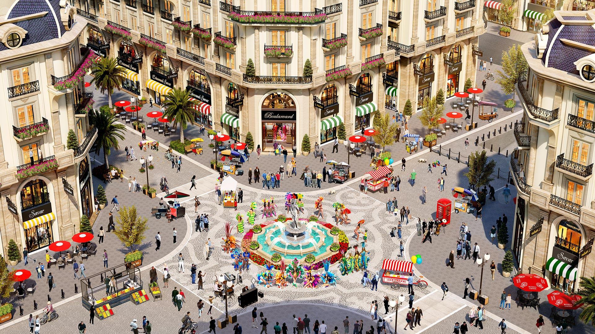 Nhà phố thương mại Royal Vạn Phúc