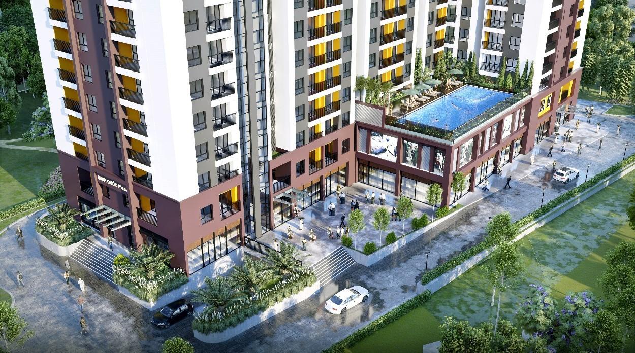 Tiện ích căn hộ Minh Quốc Plaza Bình Dương