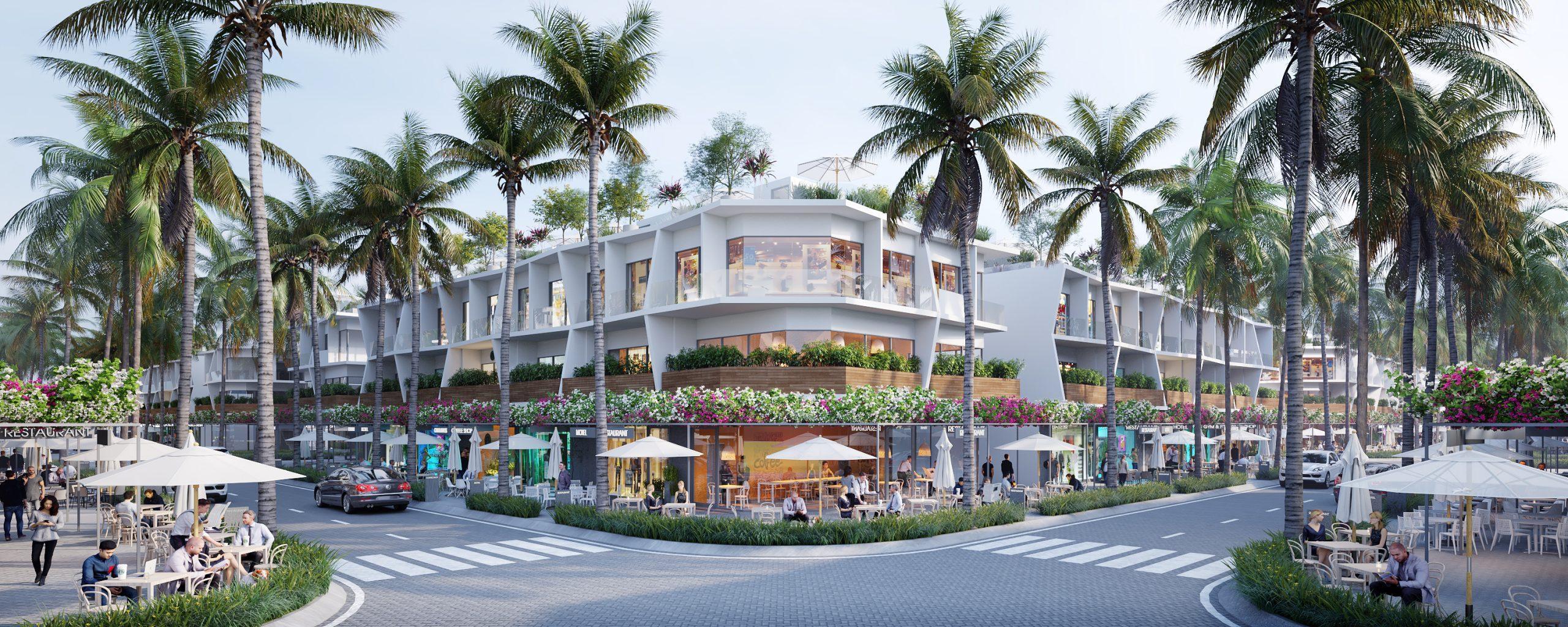 Khu nhà phố thương mại The Sound – Thanh Long Bay Bình Thuận