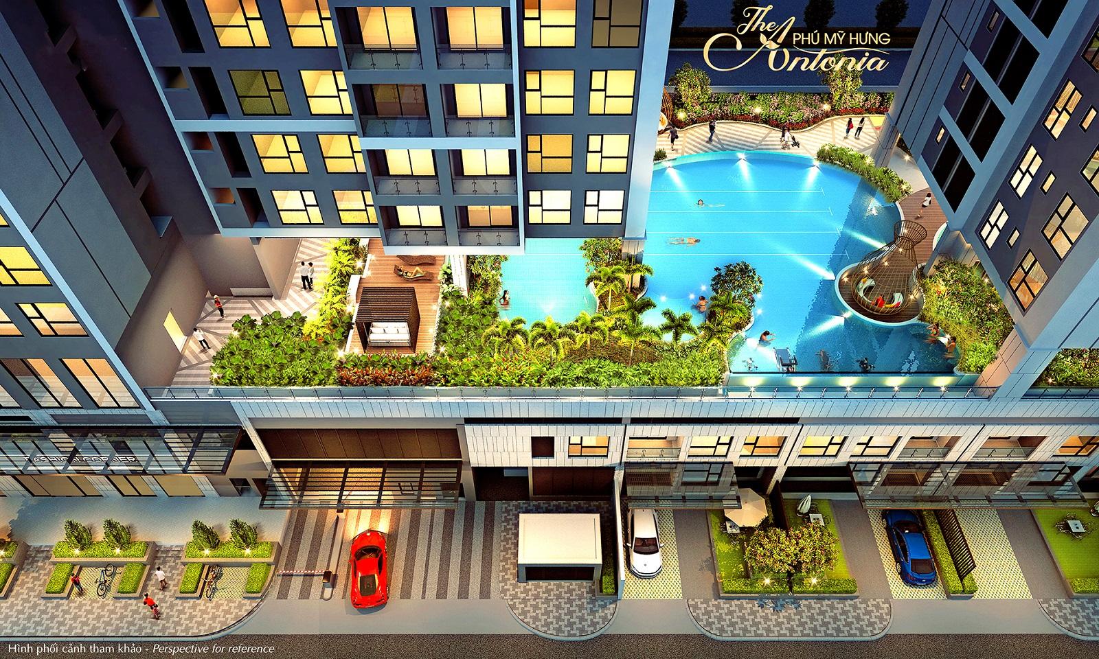 Tiện ích căn hộ The Antonia Quận 7