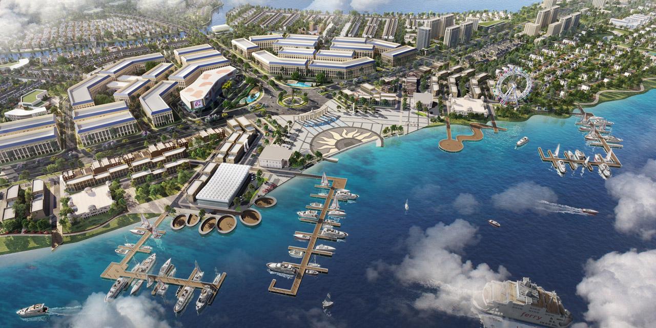 Tiện ích khu đô thị sinh thái Aqua City