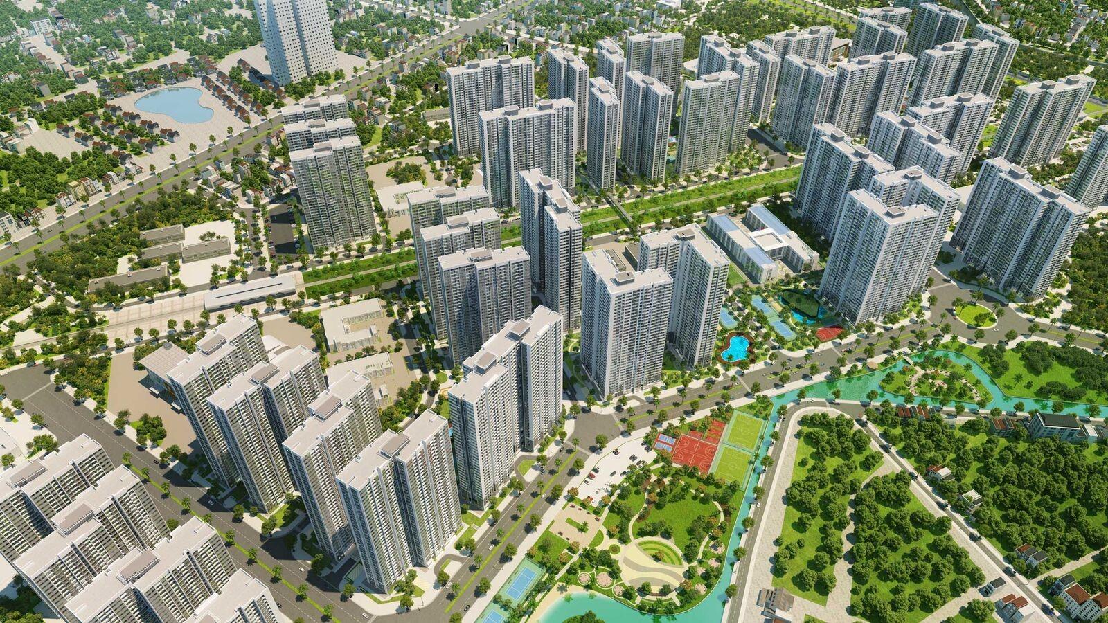 Tiện ích khu đô thị Vinhomes Smart City Tây Mỗ Đại Mỗ