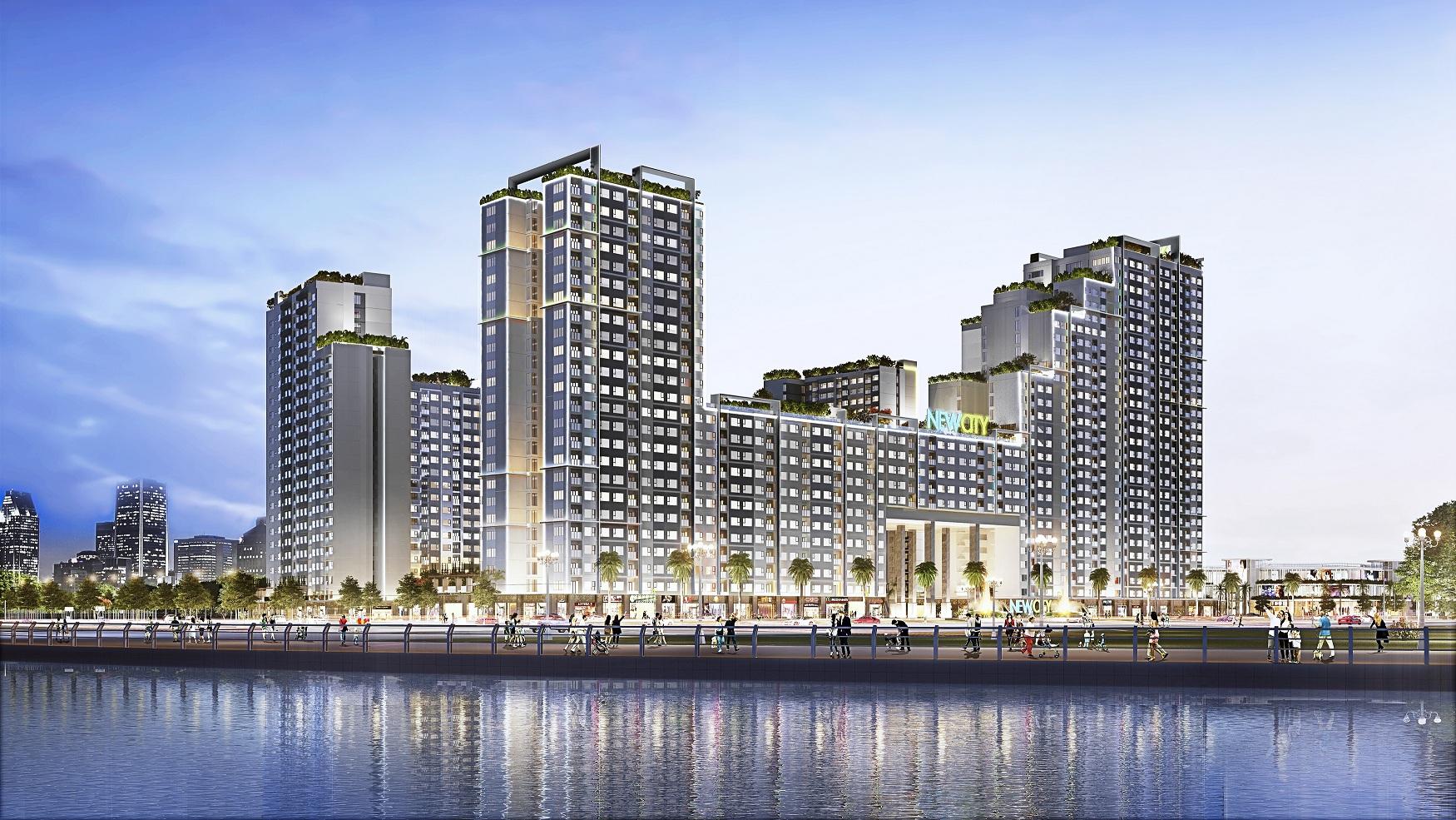 Quy mô dự án căn hộ New City Thủ Thiêm