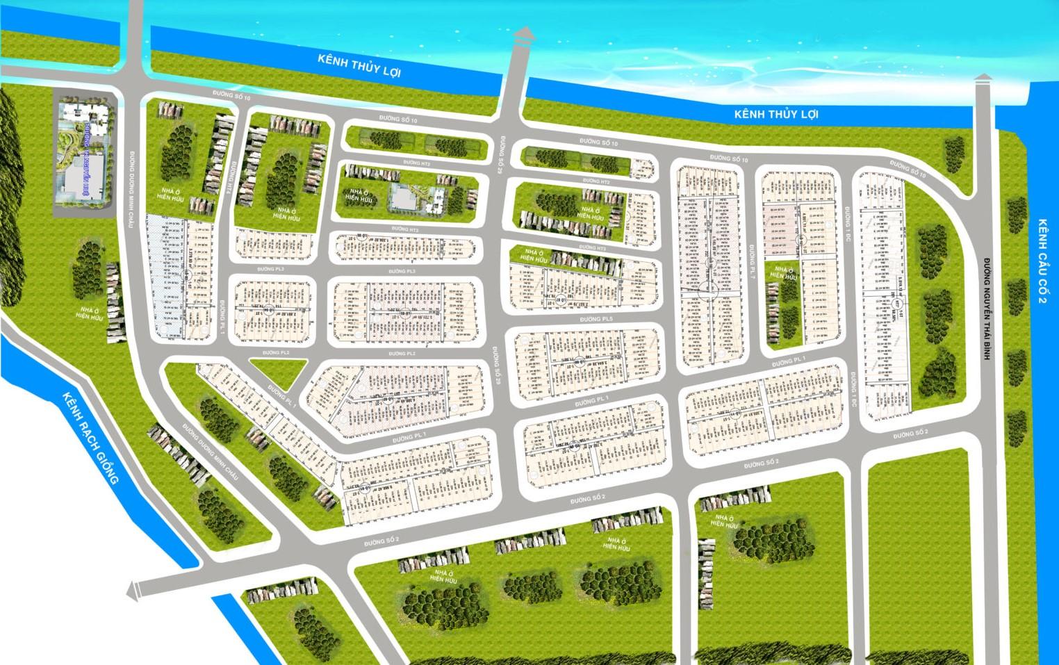 Khu đô thị Seaside City Kiên Giang