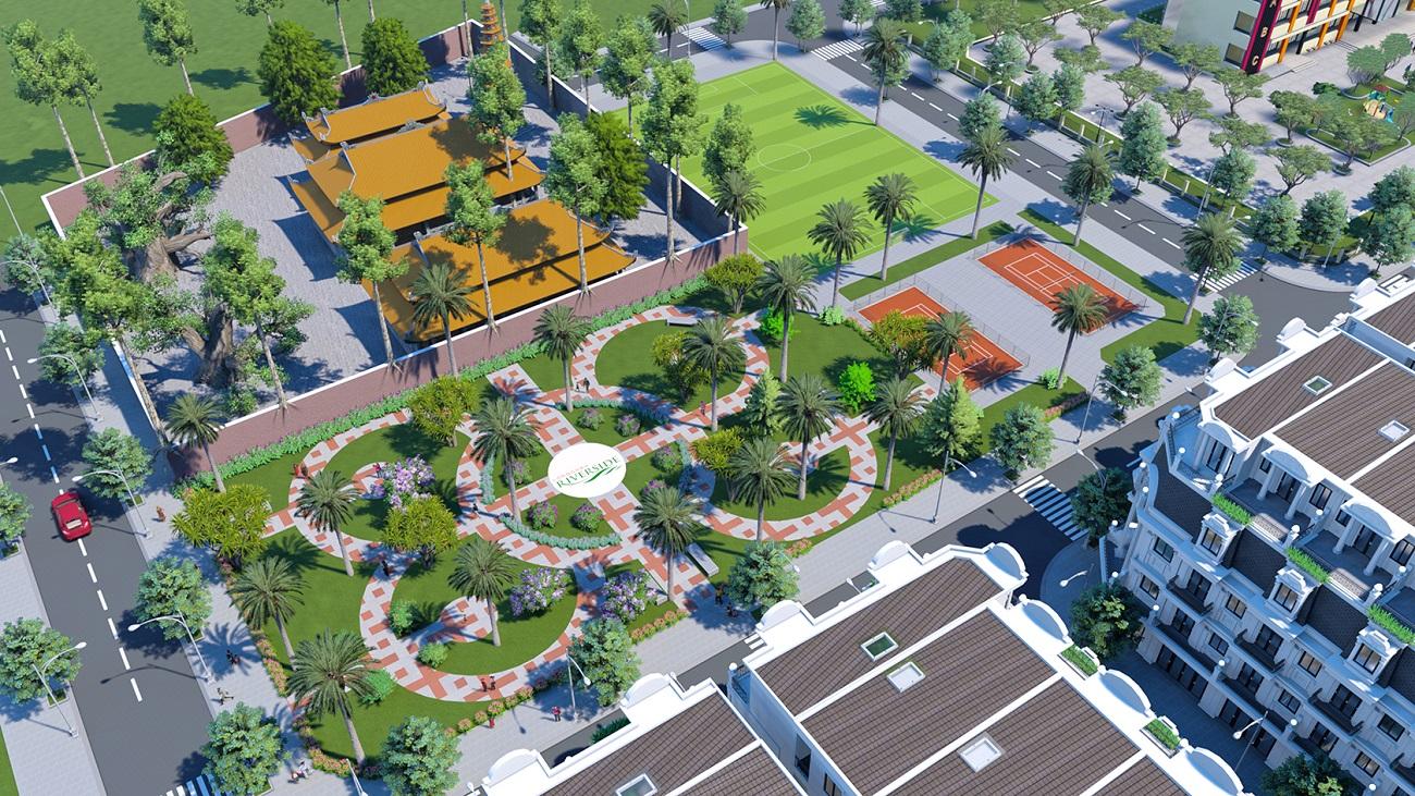 Tiện ích đất nền Long Châu Riverside Bắc Ninh