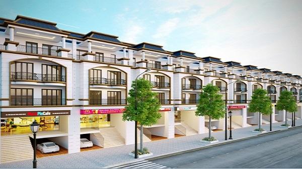 Khu phố mới Fairy Town Vĩnh Yên Centre Point