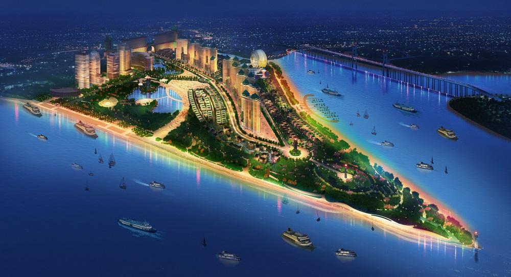 Khu đô thị Saigon Peninsula Quận 7