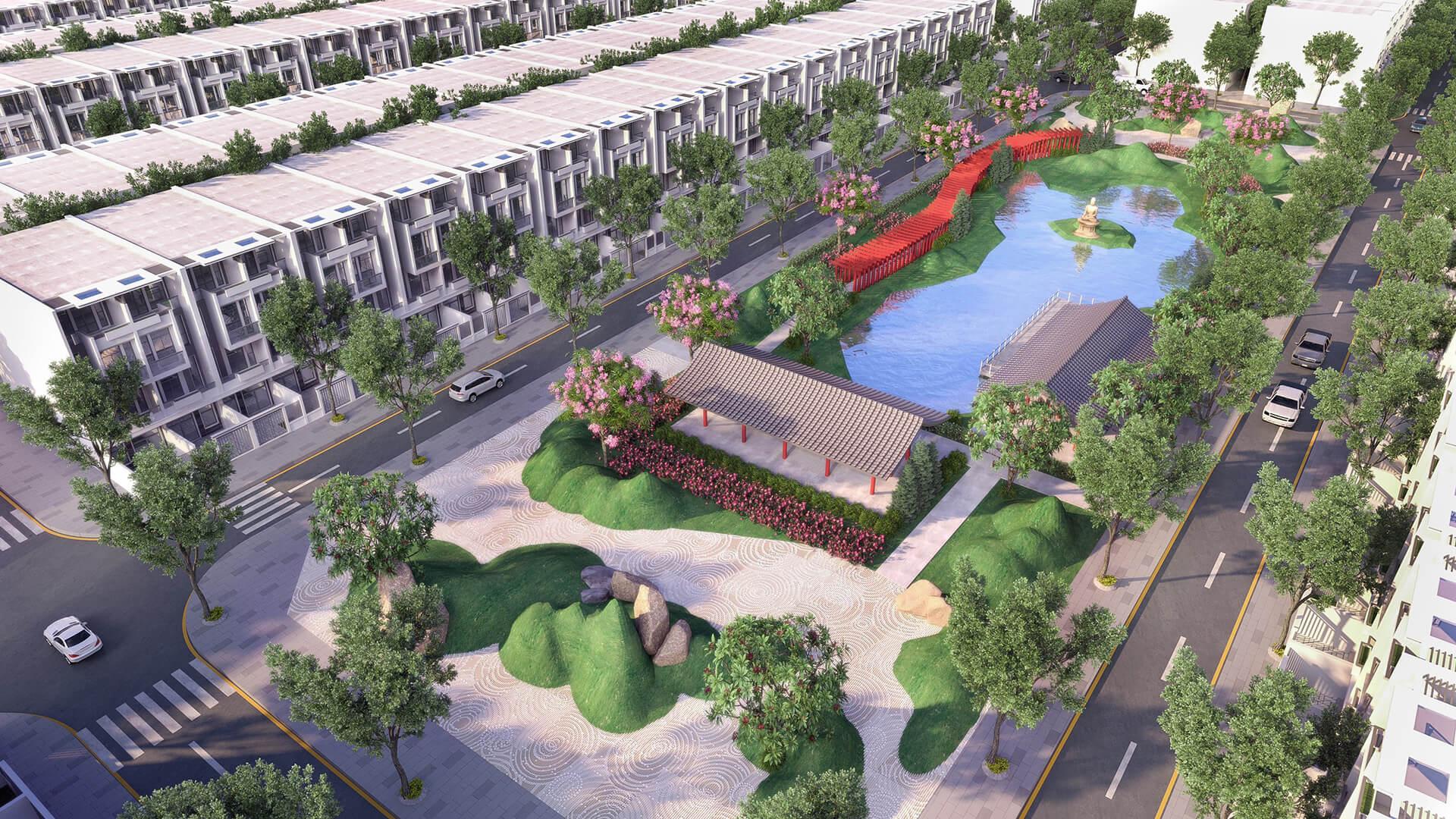 Tiện ích dự án đất nền Stella Mega City Cần Thơ
